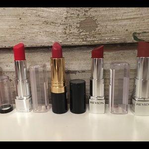 Revlon Makeup - **5 for $16** Various Red Lipsticks. Revlon.